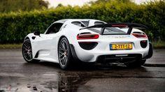 918 Spyder in white