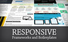 22 Responsive CSS Frameworks and Boilerplates Explained