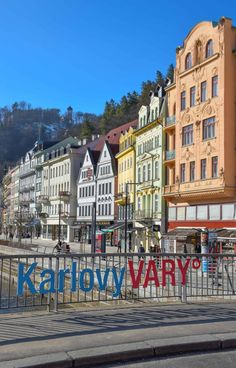 Karlovy Vary, Czech Republic - One of Europe's most unique spa towns, home to hot springs & the original Beer Spa! #travel #czechrepublic #karlovyvary #spadestinations #hotsprings #spa