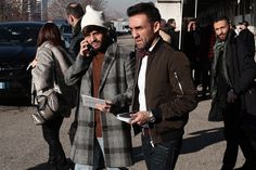 Milan Fashion Week (Ene 2017) - Streetstyle (Día 3)