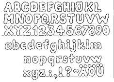 betűsablon festéshez - Google keresés