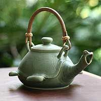 Turtle Teapot. Yes, I would love to have tea with you, Mr. Turtle.