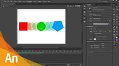 Adobe Animate CC - Shape Tween