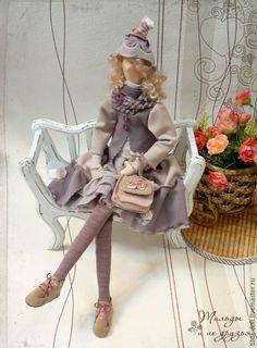 Купить Кукла в стиле Бохо: Лили ( Бохо Шик) - кукла бохо, тильды, бохо