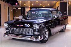 Chevrolet: Bel Air/150/210 Bel Air Restomod Pro Built 55! Dart 434ci Stroker V8, Brodix Heads, 650+ HP, Art Carr 200R4 Auto!