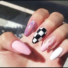 In seek out some nail designs and some ideas for your nails? Listed here is our set of must-try coffin acrylic nails for cool women. Simple Acrylic Nails, Best Acrylic Nails, Summer Acrylic Nails, Acrylic Nail Designs, Simple Nails, Gel Nail Art, Claw Nails Designs, Disney Acrylic Nails, Gel Polish Designs