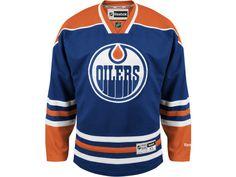 Edmonton Oilers Connor McDavid Reebok Premier Replica Home NHL Jersey Blue 7b50278ad