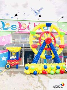 Giant Clown Head Foil Balloons Birthday Circus Carnival Christmas Party Supplies