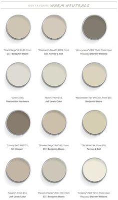warm gray paint colors