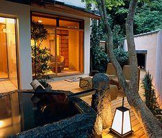 Gorakadan ryokan in Japan... Or any ryokan will do :) So relaxing