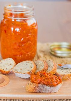 Roasted Eggplant and Pepper Spread (Zacusca) - a most delicious vegetable spread and a perfect snack.