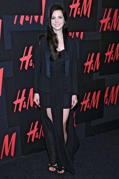 Lana Del Rey Lace Versace Jacket - Lana Del Rey Fashion Pictures - Elle#slide-1#slide-1