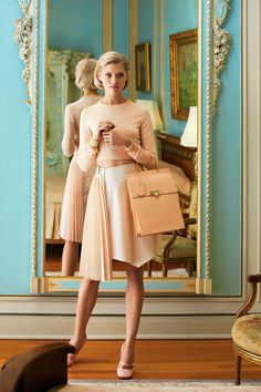 The New Romantic: Ladylike fashion to fall in love with this spring.