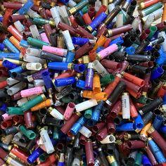 Various Mixed Colors 12 Gauge Empty Used Shotgun Hulls – Craft Supplies Depot