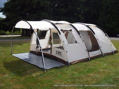 The Camping Equipment Company: GOBI 6 PERSON FAMILY CAMPING TUNNEL TENT