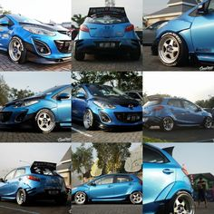 Mazda 2, Kit Cars, Modified Cars, Cars And Motorcycles, Motors, Toyota, Jazz, Compact, Wheels