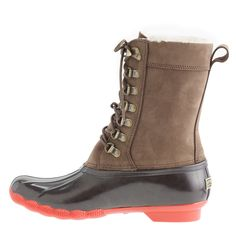 Sperry Top-Sider® for J.Crew tall Shearwater boots : size 5 | J.Crew