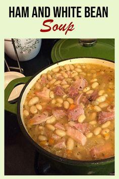 Campbells Soup Recipes, Bean Soup Recipes, Pot Roast Recipes, Casserole Recipes, Crockpot Recipes, Cooking Recipes, Chilli Recipes, Ham Hock Soup, Ham Hocks And Beans