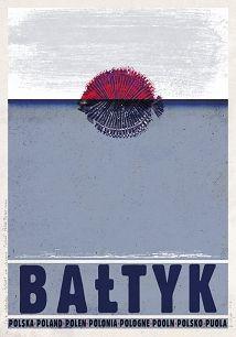 Bałtyk, polski plakat turystyczny