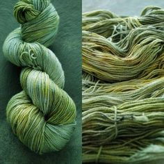 LEPRECHAUN ~ botanically dyed YAK/Silk  yarn ~ 4ply weight by appleoakfibreworks. Explore more products on http://appleoakfibreworks.etsy.com