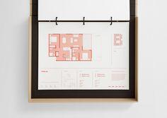 Architecture portfolio - Branding for Fabric of Onehunga by Richards Partners — BP&O – Architecture portfolio Portfolio Design Layouts, Mise En Page Portfolio, Portfolio Web, Web Layout, Layout Design, Interior Design Layout, Auckland, Planer Layout, Logos Retro