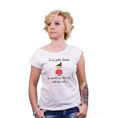 T-shirt damski z nadrukiem Mała Mi- Ja nie jestem chamska.. (mała mi kolor)