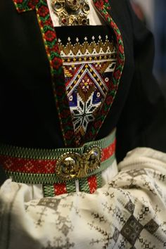 Norwegian Clothing, Norwegian Rosemaling, Costumes Around The World, Ethnic Dress, Folk Costume, Traditional Outfits, Photo Cards, Pretty People, Norway