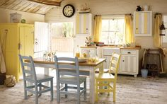 3 Miraculous Cool Tips: Narrow Kitchen Remodel Apartment Therapy ikea kitchen remodel billy bookcases.Ranch Kitchen Remodel Before After cheap kitchen remodel white.Tiny Kitchen Remodel Tips. Country Kitchen Farmhouse, Country Kitchen Designs, Rustic Kitchen, New Kitchen, Kitchen Decor, Kitchen Ideas, Kitchen Yellow, Pastel Kitchen, Yellow Kitchens