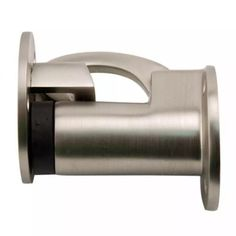 Mount this doorstop to your wall or door for added protection against damage. Features a latch to keep your door propped open. Polished Brass, Solid Brass, Door Accessories, Door Stop, Vintage Industrial, Oil Rubbed Bronze, Midcentury Modern, Antique Brass, Home Remodeling