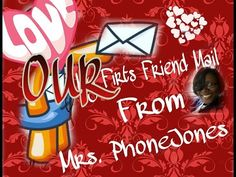 """OUR first """"FRIEND MAIL"""" from Ms. PhoneJones - YouTube"""