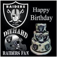 Raiders happy birthday