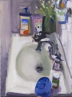 John Bokor - King Street Gallery on William Painting Lessons, Painting & Drawing, Klimt, Artist Art, Artist At Work, Painting Inspiration, Art Inspo, Art Hoe Aesthetic, Bathroom Art