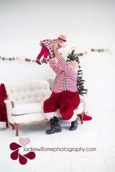 The Santa Photo of all Santa Photos! Holiday Mini Session, Christmas Mini Sessions, Christmas Minis, Cozy Christmas, Father Christmas, A Christmas Story, Holiday Photos, Christmas Baby, Natural Christmas