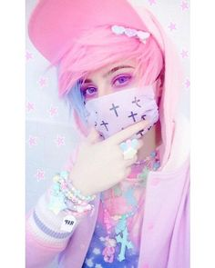 47 ideas for hair pastel goth outfit Pastel Goth Makeup, Pastel Goth Outfits, Pastel Punk, Pastel Goth Fashion, Kawaii Fashion, Grunge Outfits, Harajuku Fashion, Cute Fashion, Emo Fashion