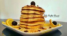 Clatite americane sau pancakes: ideale ca mic dejun, dar nu numai. Sunt un desert rapid, bucuria celor mici, pentru ca nu trebuie sa astepte prea mult. Waffles, Pancakes, Pizza, Breakfast, Desserts, Recipes, Food, Sweets, Morning Coffee