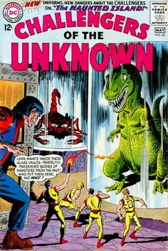 Challengers of the Unknown #43 (April - May 1965)