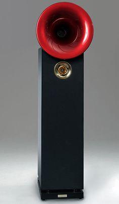 Acapella High Violoncello II loudspeaker.  Priced at $80,000.00 per pair.