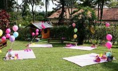 Fiesta infantil estilo picnic