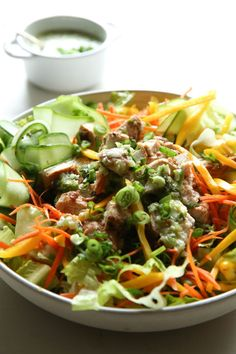Asian Chicken Salad: This is literally the most delicious way to have a salad for dinner.