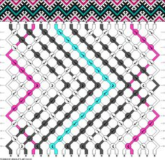 patterns easy This site has thousands of friendship bracelet patterns! This site has thousands of friendship bracelet patterns! Thread Bracelets, Embroidery Bracelets, Woven Bracelets, Bracelet Fil, Bracelet Making, Macrame Patterns, Beading Patterns, Fun Patterns, Diy Friendship Bracelets Patterns