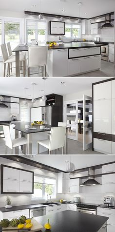 51 best Cuisines Contemporaines images on Pinterest | Kitchen ...