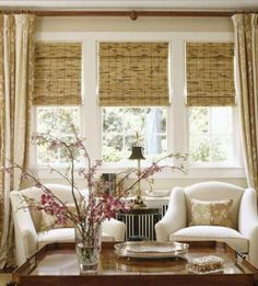 Treat Your Windows | The Bamboo Shade - the long and short of it
