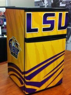 Cuz everyone needs a lsu fridge for lsu bud light!!!!
