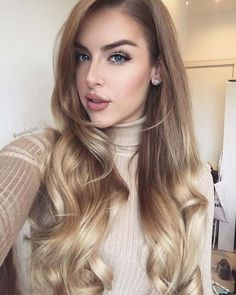 16 Best honey blonde hair color - Hairstyles For All Ombre Hair, Balayage Hair, Blonde Ombre, Honey Blonde Hair Color, Dark Blonde, Blonde Color, Gorgeous Hair, Beautiful, Hair Dos