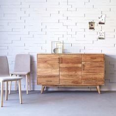 Oslo Acacia Sideboard 150