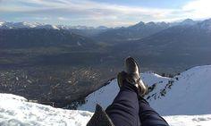 No není na ten Innsbruck krásný výhled?