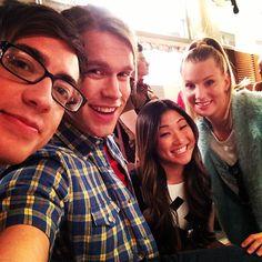 Chord Overstreet + instagram selfies for Glee: 100.