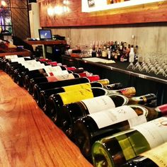 Wines at RUI Lounge&Bar