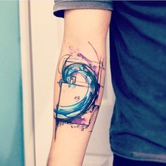 omg. both the nerdy AND artistic parts of me loves this Fibonacci sequence tattoo...