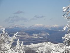 Inlet, NY- Winter in the Adirondacks is absolutely beautiful!! It's like a winter wonderland!
